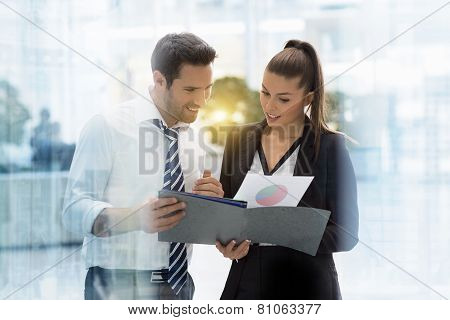 portrait of business people
