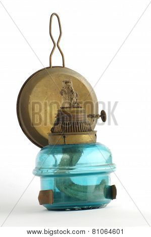 kerosene lamp blue 2