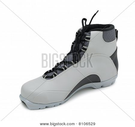 Ski Boot, Isolated