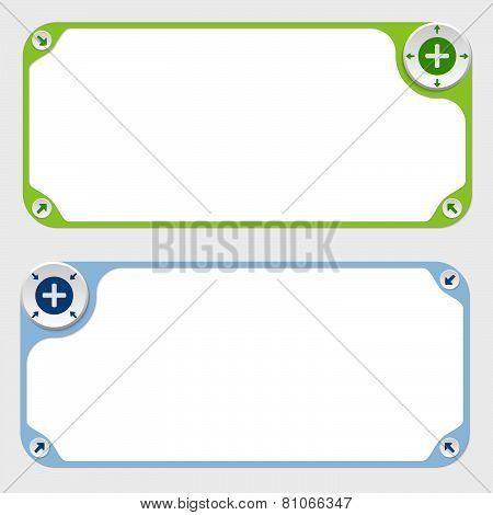 Two Vector Frames And Arrows