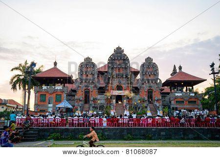 Ceremony At Hindu Temple, Bali