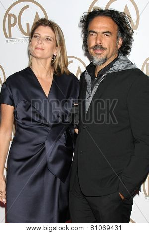 LOS ANGELES - JAN 24:  Alejandro Gonzalez Inarritu at the Producers Guild of America Awards 2015 at a Century Plaza Hotel on January 24, 2015 in Century City, CA