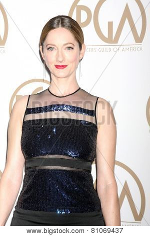 LOS ANGELES - JAN 24:  Judy Greer at the Producers Guild of America Awards 2015 at a Century Plaza Hotel on January 24, 2015 in Century City, CA