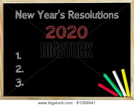 New Years Resolutions 2020