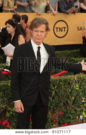 LOS ANGELES - JAN 25:  William H Macy at the 2015 Screen Actor Guild Awards at the Shrine Auditorium on January 25, 2015 in Los Angeles, CA