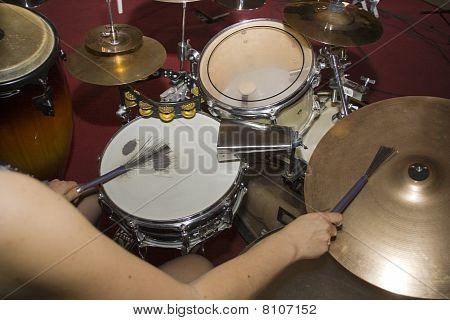 Drummer In Concert