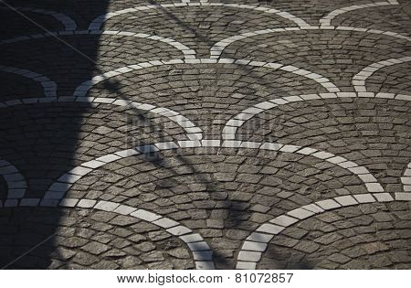 Street, Asphalt Decorated Detail