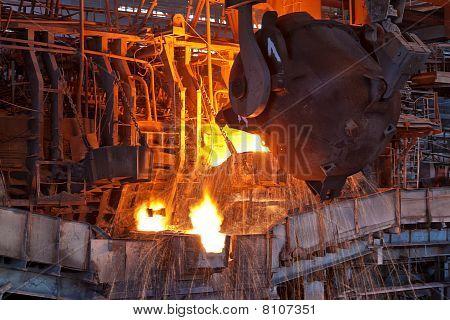 Open-hearth furnace