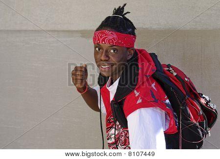 Healthy Black Teen