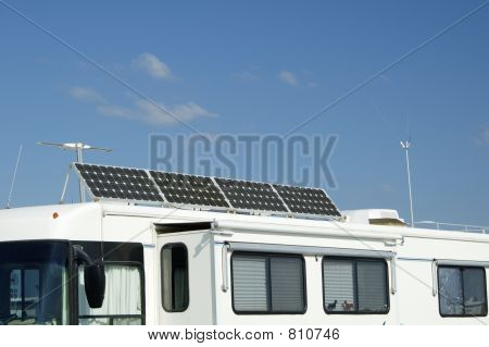Camping with Solar 5