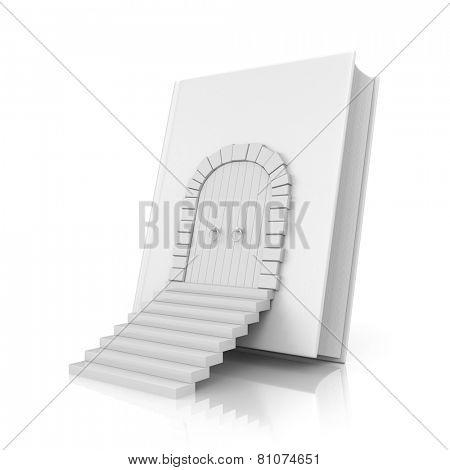 Book with door