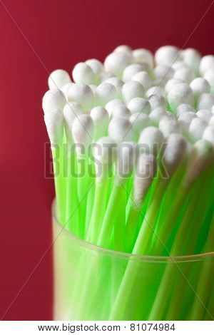 Earbuds (swabs) collection
