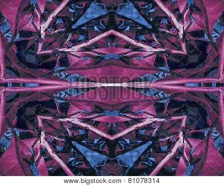 Abstract Futuristic Collage Design