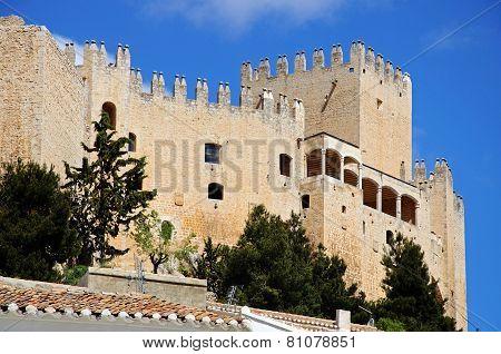Velez Blanco castle.