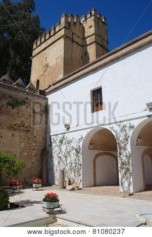 Castle courtyard, Cordoba.