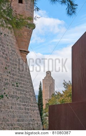 Sant Pere Bastion wall