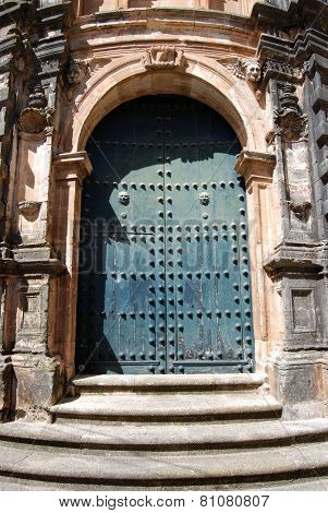 Church door, Ronda.