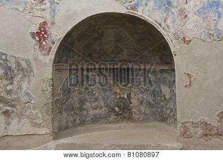 Stabian Thermal Baths Complex interior detail