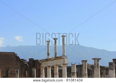 Ancient Ruins Of Pompei