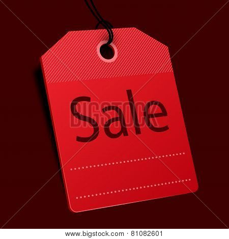 Price tag. Sale concept. Vector