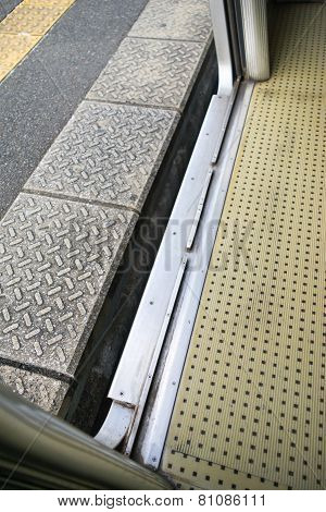 The Gap Between The Train And Platform