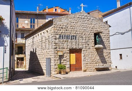 Church of St. Cataldo Pietragalla. Basilicata. Italy.