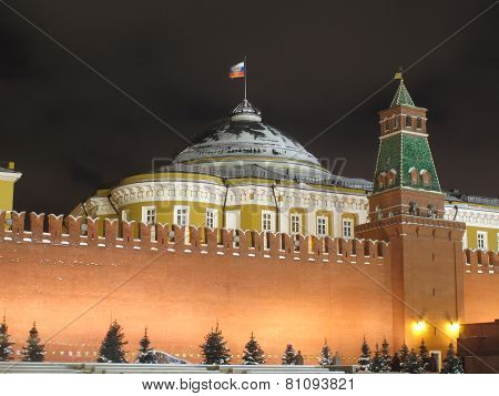 Grand Kremlin Palace situated in Moscow Kremlin