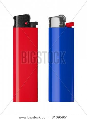 Lighter isolated on white background