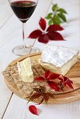 picture of brie cheese  - Brie soft French cow - JPG