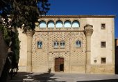 stock photo of baeza  - Jabalquinto palace Baeza Jaen Province Andalusia Spain Western Europe - JPG