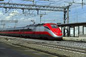 picture of high-speed train  - high - JPG