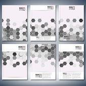 stock photo of hexagon  - Geometric backgrounds - JPG