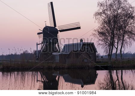 Mill At Woerdens Verlaat