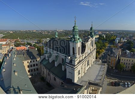 Top View Of Lublin, Poland