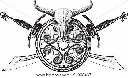 The emblem of the Viking