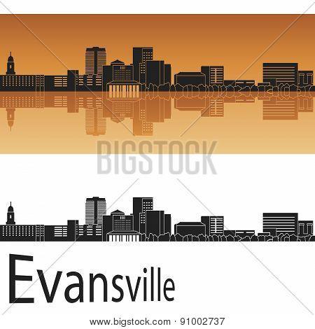 Evansville Skyline