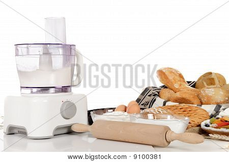 Food Processor, Ingredients, Bakery And Pastry Products