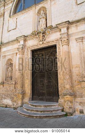 Church of St. Chiara. Matera. Basilicata. Southern Italy.