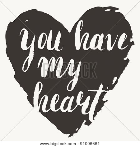 'you Have My Heart' Card
