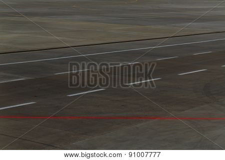 Airstrip At The Airport