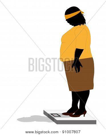 stout woman