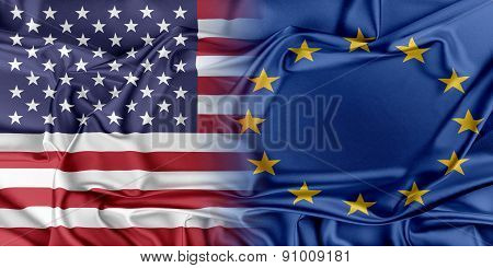 USA and Europe.