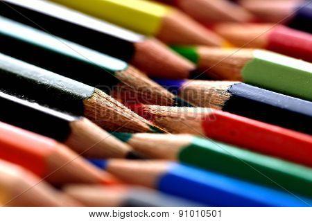 Pencil,palette,color