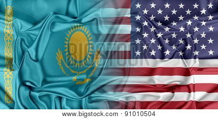 USA and Kazakhstan.