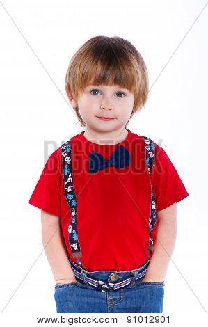 Cute little boy.