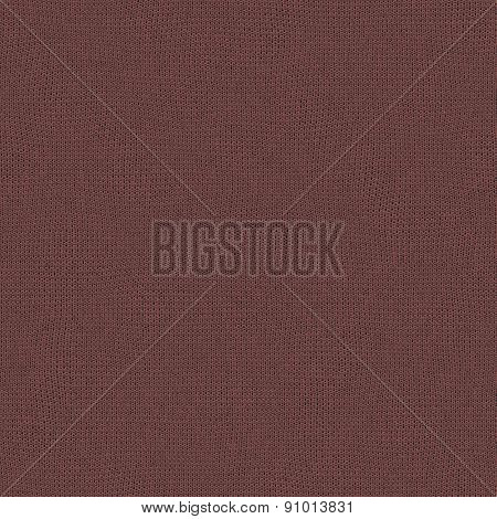 Seamless Marsala Knitted Wool Texture For Textile Background