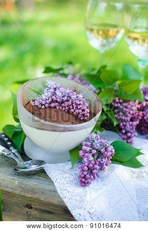 Cream tiramisu