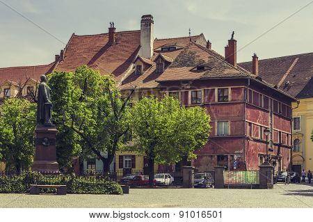 The Huet Square, Sibiu, Romania