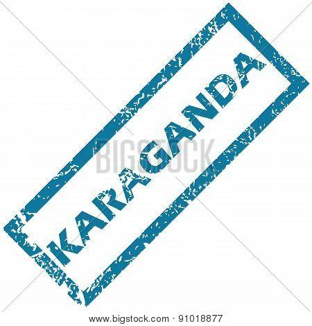 Karaganda rubber stamp