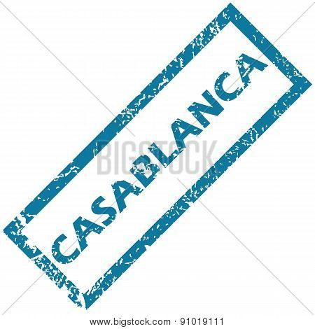 Casablanca rubber stamp